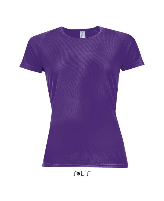 TEE-SHIRT FEMME MANCHES RAGLAN SPORTY WOMEN