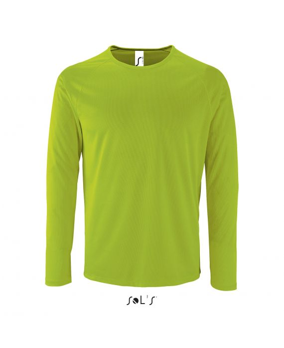 TEE-SHIRT SPORT HOMME MANCHES LONGUES SPORTY LSL MEN