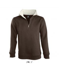 SWEAT-SHIRT HOMME COL CAMIONNEUR (1/4 ZIP) SCOTT