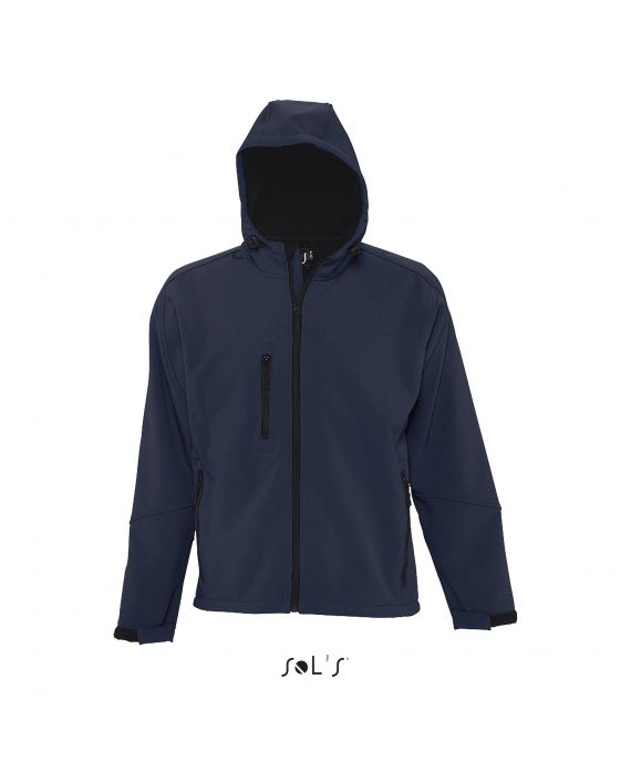 SOFTSHELL HOMME À CAPUCHE REPLAY MEN