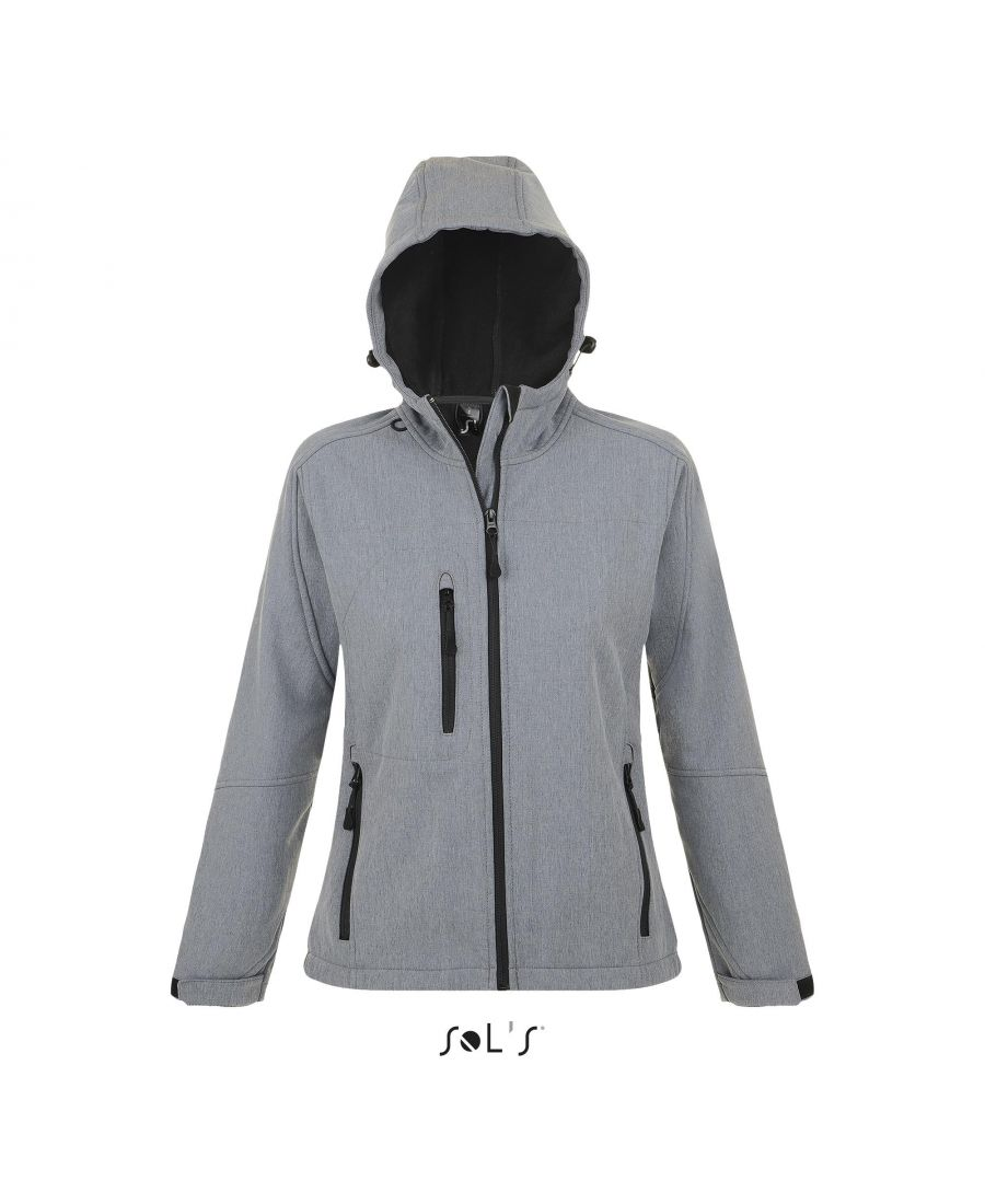 SOFTSHELL FEMME À CAPUCHE REPLAY WOMEN