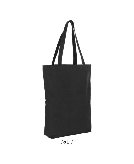 SAC SHOPPING MAXI FORMAT CANVAS LOURD FAUBOURG