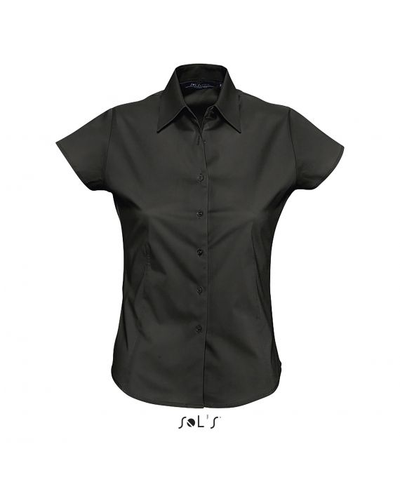 CHEMISE FEMME STRETCH MANCHES COURTES EXCESS
