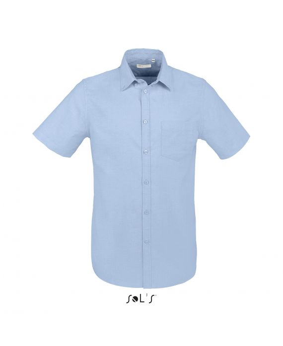 CHEMISE HOMME STRETCH MANCHES COURTES BROADWAY