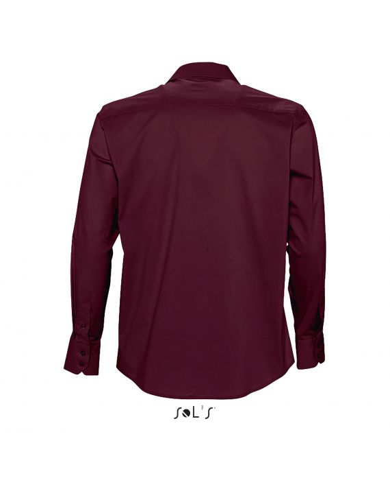 CHEMISE HOMME STRETCH MANCHES LONGUES BRIGHTON