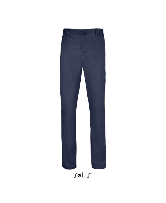 PANTALON STRETCH EN SATIN HOMME JARED MEN