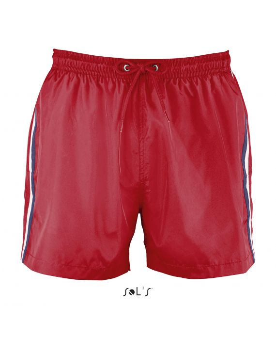 SHORT DE BAIN TRICOLORE HOMME SUNRISE