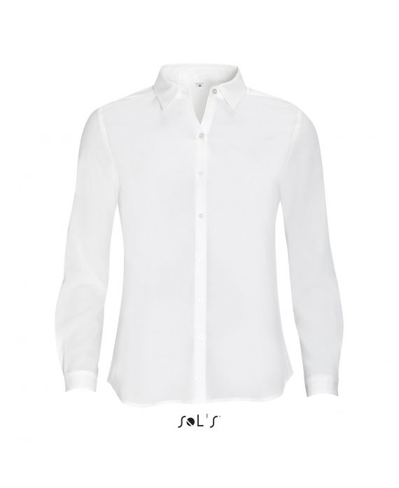 CHEMISE FEMME CRÊPE MANCHES LONGUES BETTY