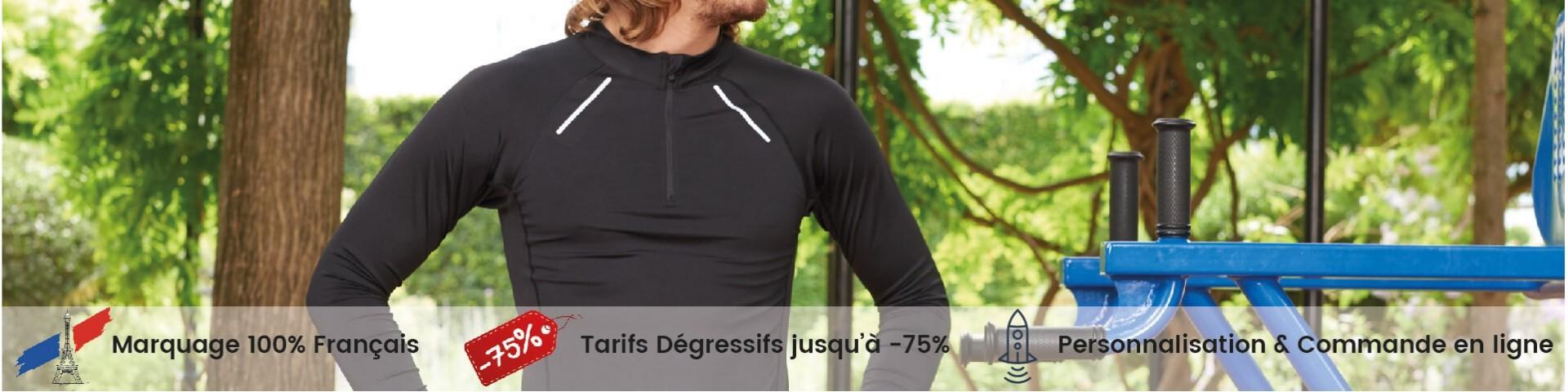 Tee-shirts de sports personnalisé - Flocage, Impression