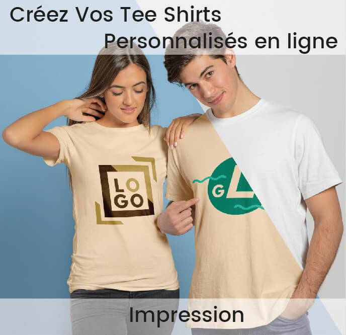 t shirt personnalisé imprimé et flocage